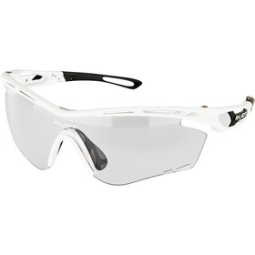 Rudy Project Tralyx Okulary rowerowe, white gloss - impactx photochromic 2 black